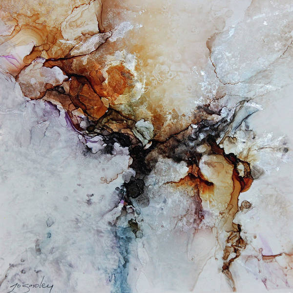 Ceramic Art - Cosmic Blast by Joanne Smoley