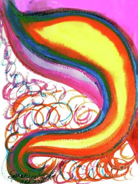 Cosmic Caf Ca4 Art Print