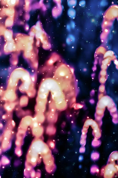 Photograph - Cosmic Glow Iv by Anne Leven