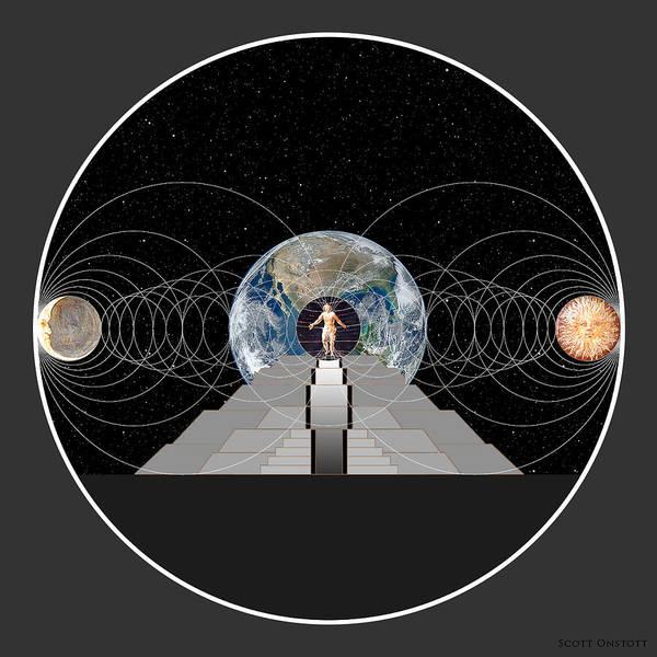 Digital Art - Cosmic Influences by Scott Onstott
