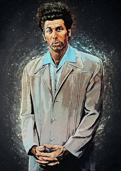 Wall Art - Digital Art - Cosmo Kramer by Zapista Zapista