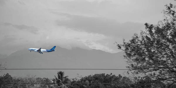 Wall Art - Photograph - Costa Rica Airport Airplane by Betsy Knapp