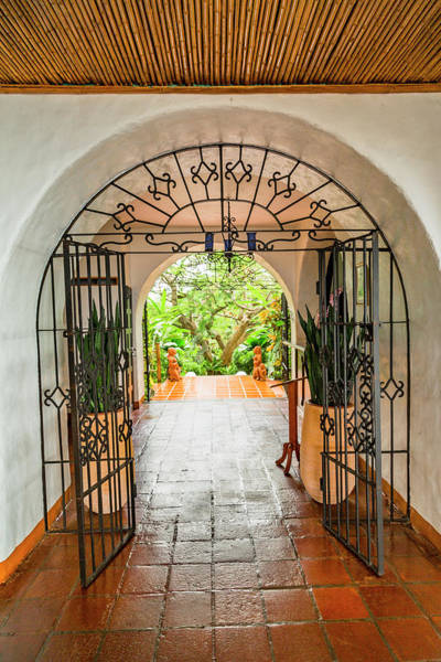 Wall Art - Photograph - Costa Rica Resort Entrance by Betsy Knapp