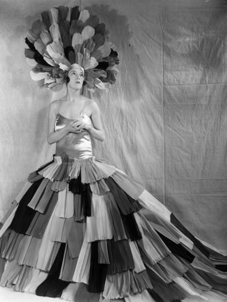 Archival Paper Photograph - Costume For Pageant by Sasha