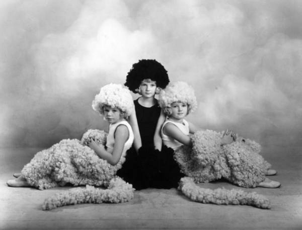 Child Actress Wall Art - Photograph - Costumes For Wool by Sasha