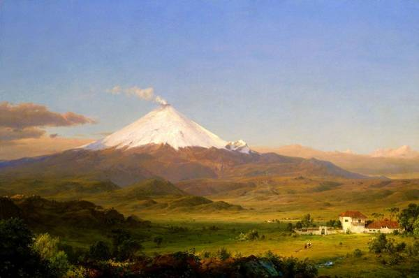 Wall Art - Painting - Cotopaxi 2 - Digital Remastered Edition by Frederic Edwin Church