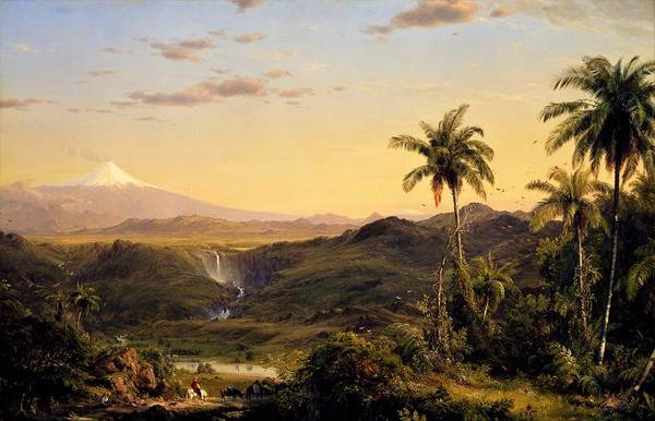 Wall Art - Painting - Cotopaxi - Digital Remastered Edition by Frederic Edwin Church