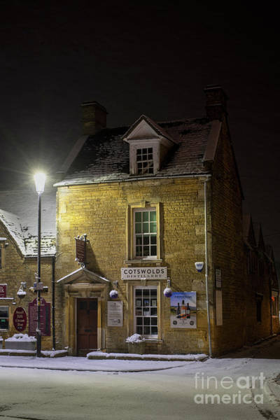 Photograph - Cotswolds Distillery Shop Bourton On The Water In The Snow by Tim Gainey