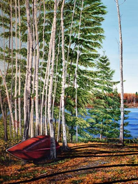 Painting - Cottage Country by Marilyn McNish