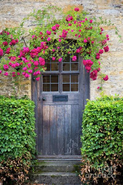 Photograph - Cottage Door by Brian Jannsen