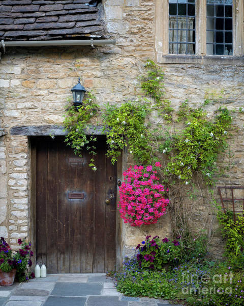 Photograph - Cottage Door - Castle Combe by Brian Jannsen