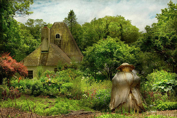Photograph - Cottage - Mother Nature's Garden by Mike Savad