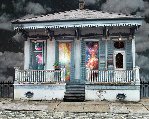 Wall Art - Digital Art - Cottage Of Possibilities by Loveday Funck
