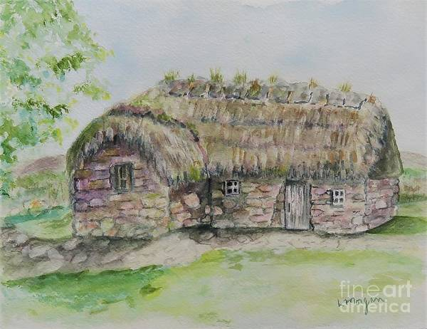 Painting - Cottage On Culloden Moor by Laurie Morgan