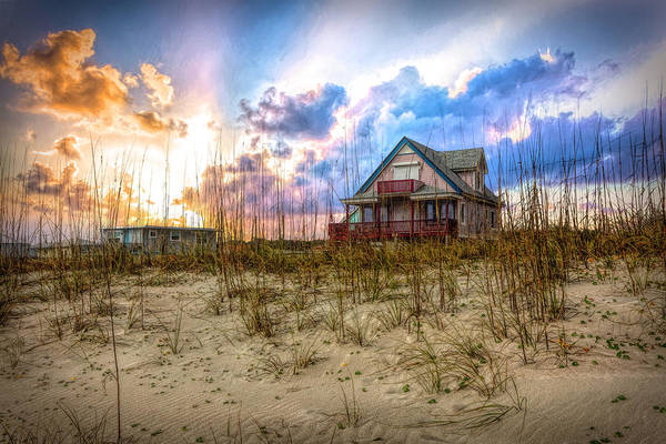 Photograph - Cottage On The Dunes by Debra and Dave Vanderlaan