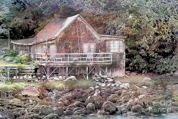 Photograph - Cottage On The River by Marcia Lee Jones