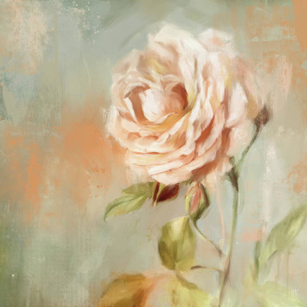 Painting - Cottage Rose by Jai Johnson