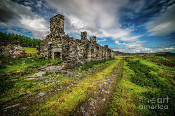Wall Art - Photograph - Cottage Ruin Snowdonia by Adrian Evans