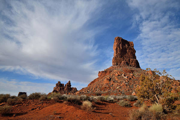 Photograph - Cotton Candy Clouds Over Valley Of The Gods by Ray Mathis