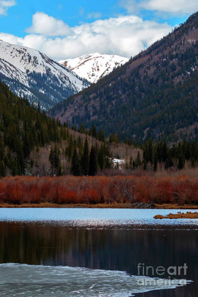 Photograph - Cottonwood Lake And Cottonwood Creek by Steve Krull