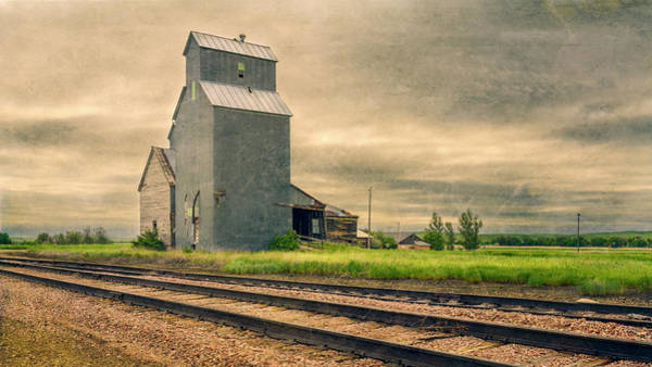 Photograph - Cottonwood South Dakota Grain Elevator II by Joan Carroll