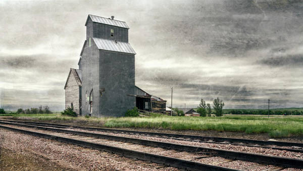 Wall Art - Photograph - Cottonwood South Dakota Grain Elevator IIi by Joan Carroll