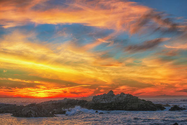 Photograph - Couds At Sunset by Fernando Margolles