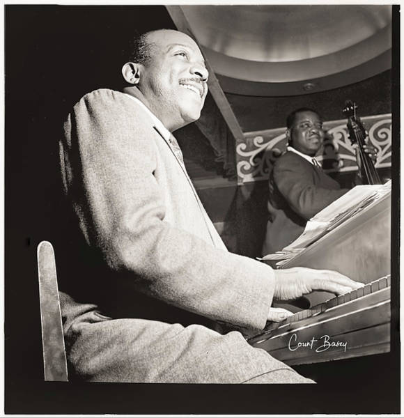 Photograph - Count Basie by Carlos Diaz