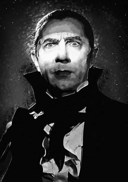 Count Digital Art - Count Dracula by Zapista Zapista