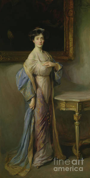 Wall Art - Painting - Countess Fitzwilliam, Wife Of The 7th Earl Fitzwilliam, 1911 by Philip Alexius de Laszlo