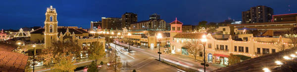 Country Club Plaza Photograph - Country Club Plaza At Dusk by Chris Pritchard