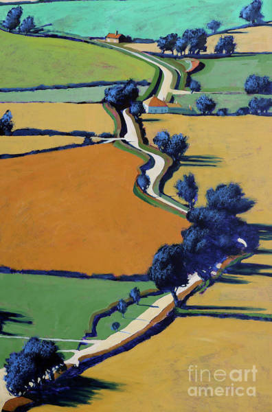 Wall Art - Painting - Country Lane by Paul Powis
