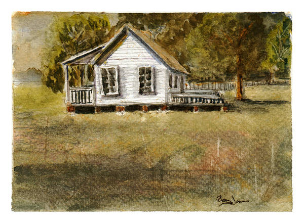 Painting - Country Living by Barry Jones