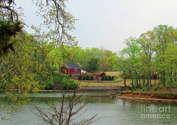 Photograph - Country Living On The Tennessee River by Roberta Byram