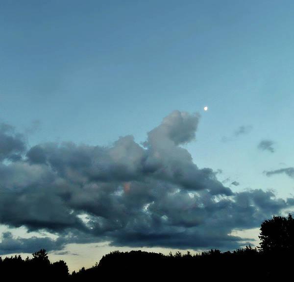Photograph - Country Luna by Cyryn Fyrcyd
