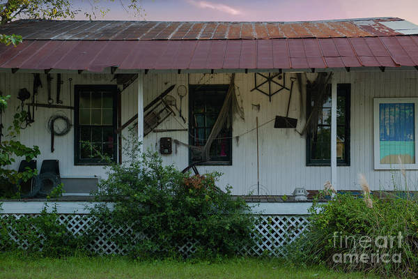 Photograph - Country Porch by Dale Powell
