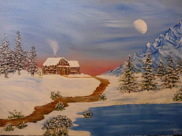 Painting - Country Retreat by Bernd Hau