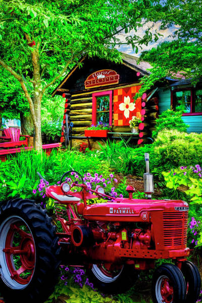 Photograph - Country Town Charm by Debra and Dave Vanderlaan