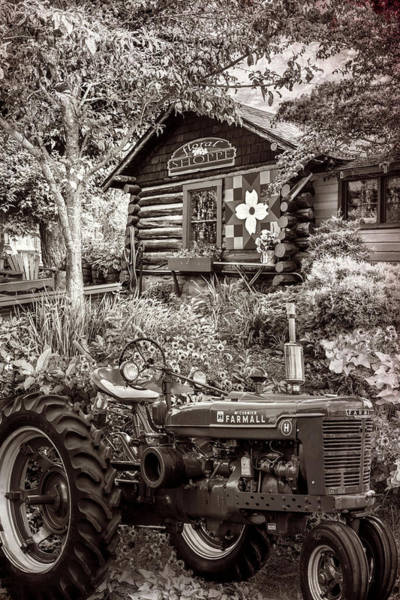 Photograph - Country Town Charm In Vintage Sepia by Debra and Dave Vanderlaan