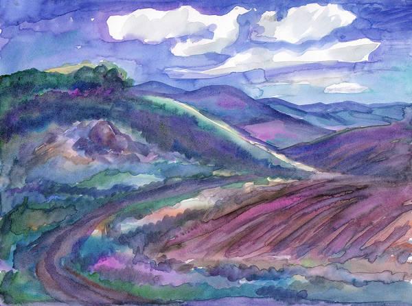 Painting - Countryside, Arable Land In Spring by Irina Dobrotsvet