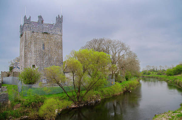 Photograph - County Galway Ireland - Claregalway Castle by Bill Cannon