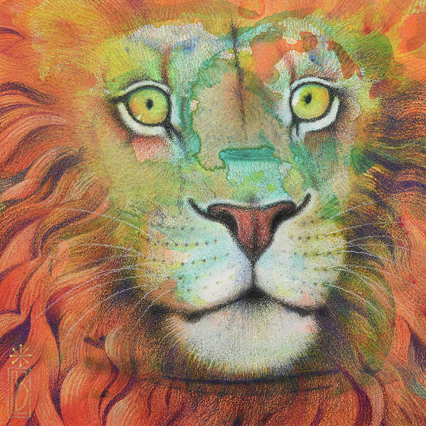 Painting - Courage by Lynn Bywaters