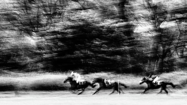Photograph - Course De Chevaux by Jorg Becker