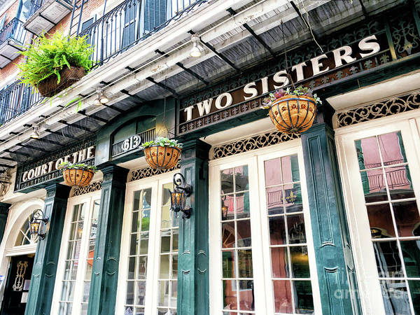 Photograph - Court Of The Two Sisters In New Orleans by John Rizzuto