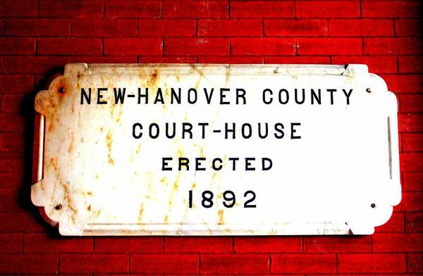 Photograph - Courthouse Sign  by Cynthia Guinn