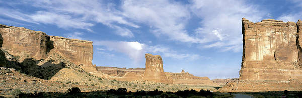 Wall Art - Photograph - Courthouse Towers, Arches Np by David Hosking