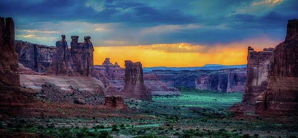 Wall Art - Photograph - Courthouse Towers At Sunset by N P S Chris Wonderly