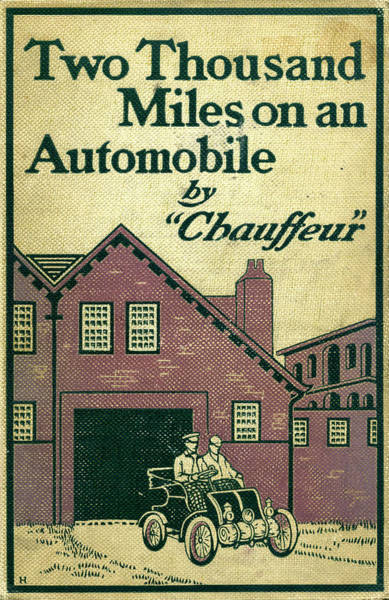 Mixed Media - Cover Design For Two Thousand Miles On An Automobile by Edward Stratton Holloway