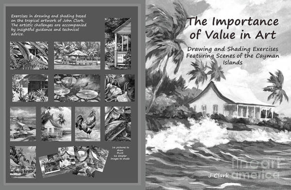 Values Wall Art - Painting - Cover Of My Drawing And Shading Book by John Clark