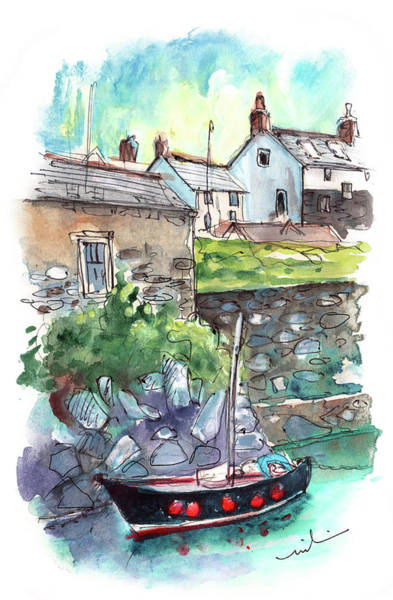 Painting - Coverack On Lizard Peninsula 02 by Miki De Goodaboom